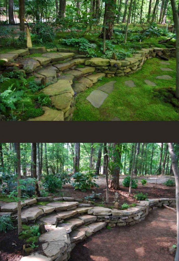 50 Stunning Front Yard Rock Garden Landscaping Ideas