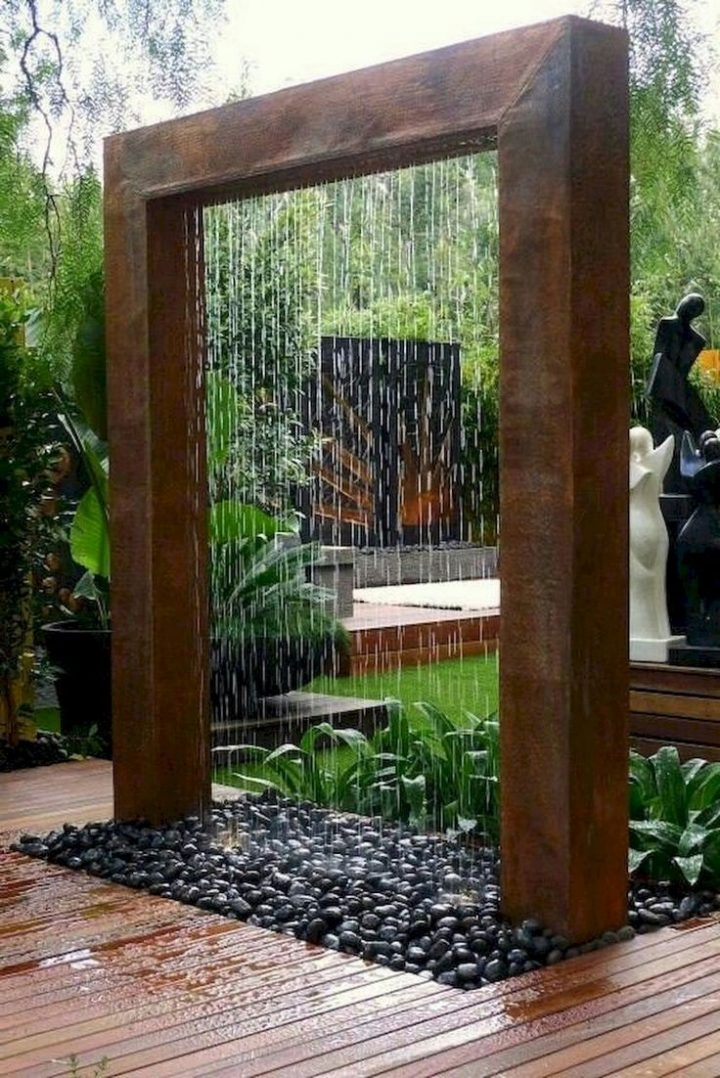 60 exciting landscaping ideas in the backyard waterfall garden