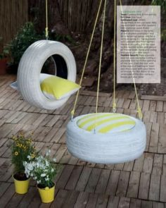 DIY swings and slides for amazing playgrounds