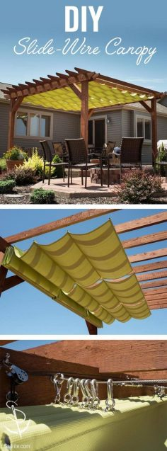 Tuscan Shelter Sliding Wire Awning – 14 Awesome …