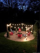✔ 54 amazing DIY ideas for bonfire for your yard 43