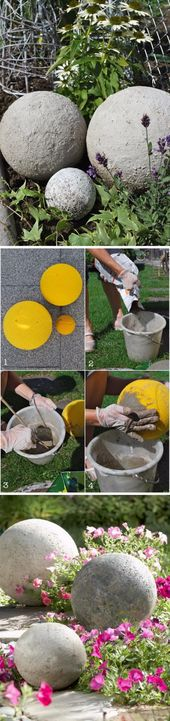 30 concrete DIY projects for your garden