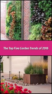 The five main garden trends of 2018: spring is everything …