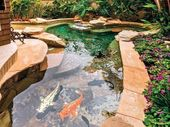 Fish Pond Backyard Ideas Inspirations about Home D …