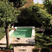 How to fit a pool in a small backyard