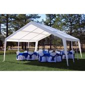 King Canopy 20 Ft. Width x 20 ft Party tent D Steel | Wayfair