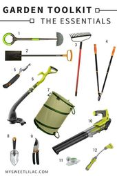 Our garden tool kit – My Sweet Lilac