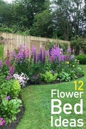 12 magnificent flower bed ideas for your home