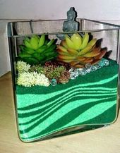 39 DIY Sand Art Terrarium ideas and projects that everyone will love – Homiku.com