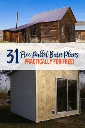 31 free Pallet Barn plans you can use today! The | Spoiled chicken mom: raising chickens in the backyard