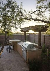 85 gorgeous kitchens and outdoor grills for summer backyard ideas