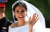 Meghan Markle hugged her favorite feature on her royal wedding day: her freckles!